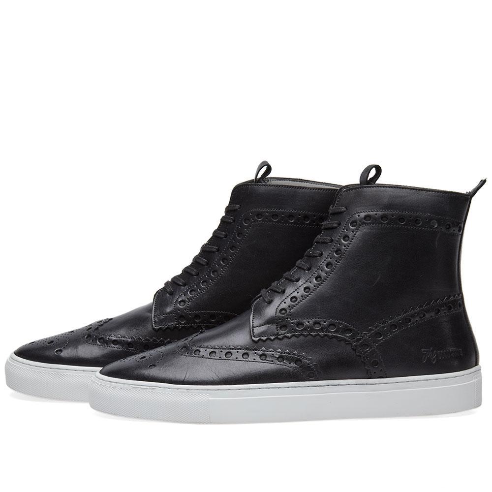Grenson Leather Sneaker 4 in Black
