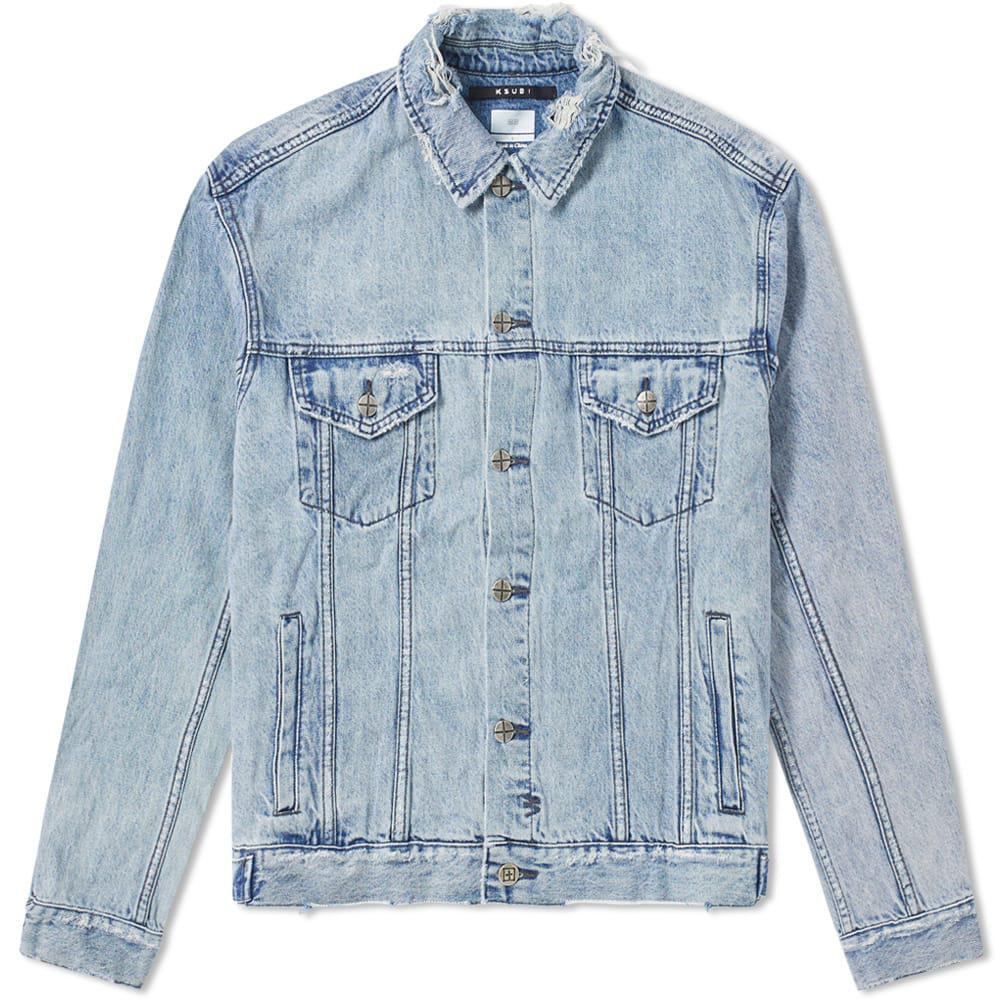 9d04c9dc42 Ksubi Oh G Acid Trip Denim Jacket in Blue for Men - Save 37% - Lyst