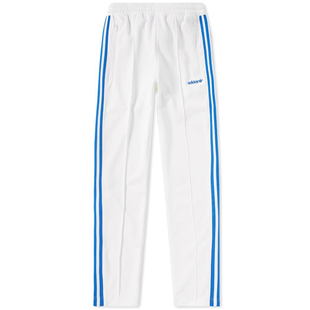 adidas Originals Cotton Os Beckenbauer Track Pant in White