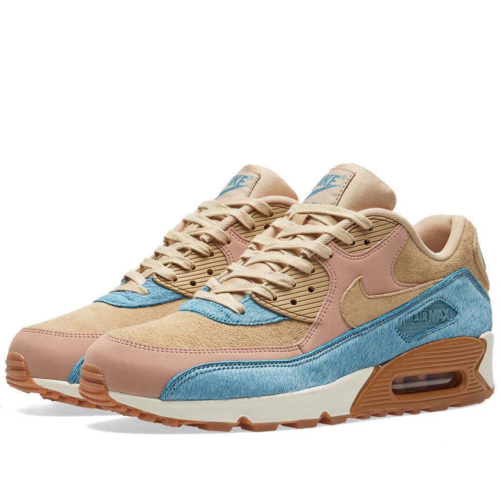 nike air max 90 lx w in blue lyst. Black Bedroom Furniture Sets. Home Design Ideas