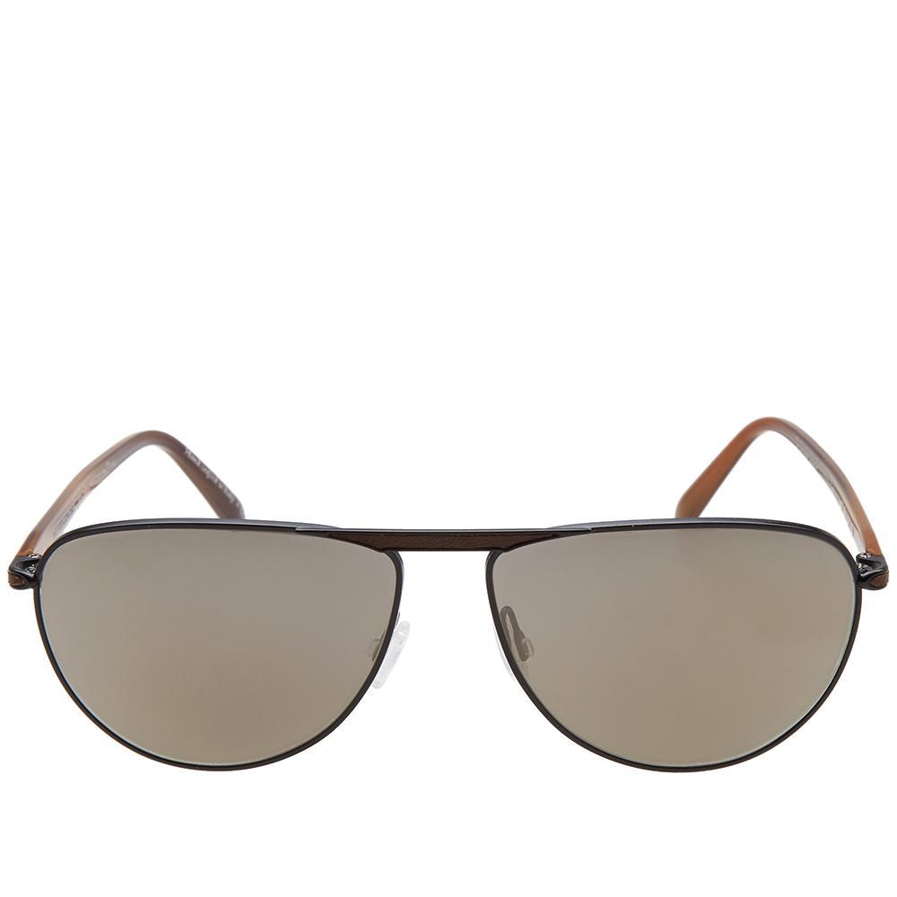 9599f4b8bd Lyst - Oliver Peoples X Berluti Conduit Street Sunglasses in Black ...