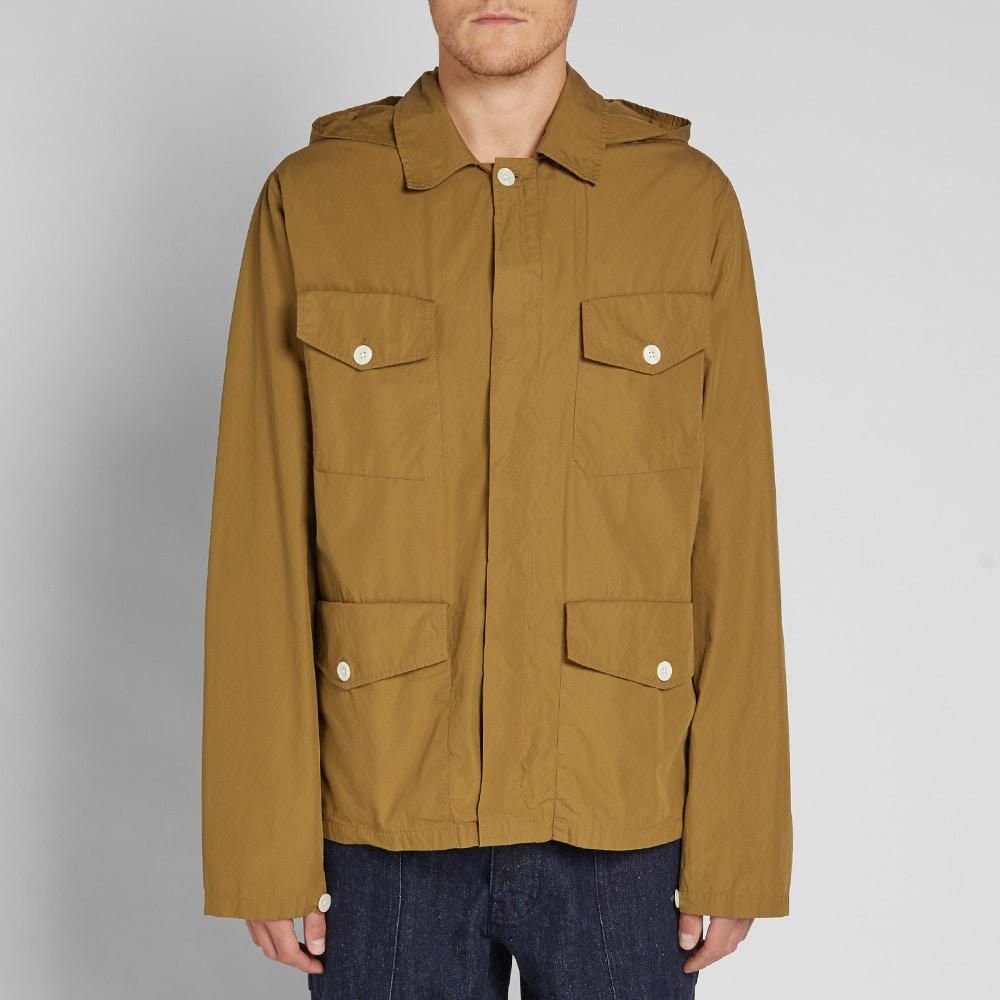 072f9dfc0f87 Nigel Cabourn X Lybro Field Shirt Jacket in Brown for Men - Save 20% - Lyst