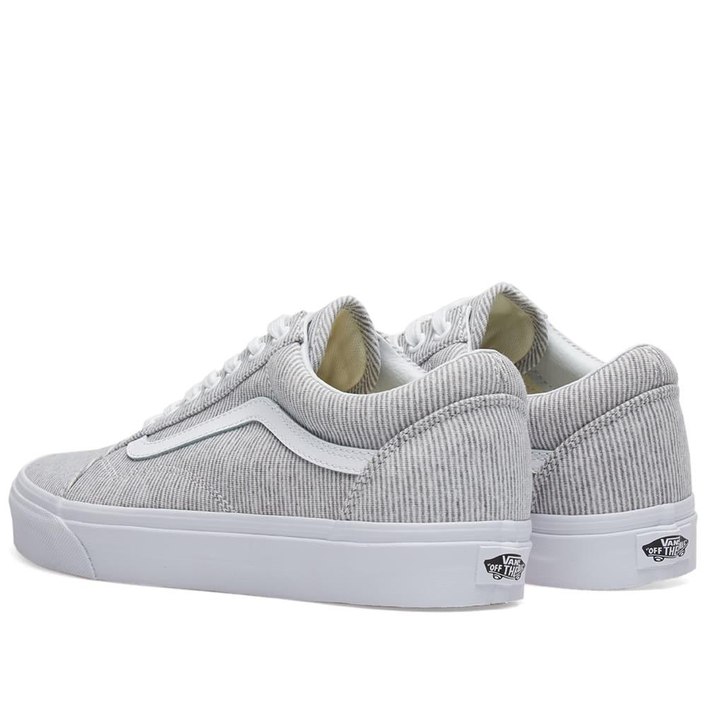 Vans Synthetic Old Skool in Grey (Grey) for Men