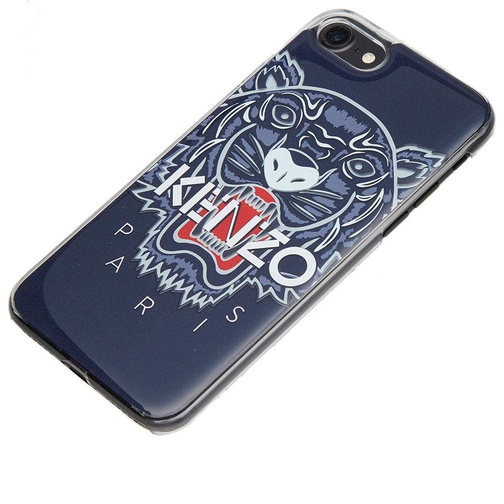da39ccc8 KENZO Blue Tiger Iphone 7 Case