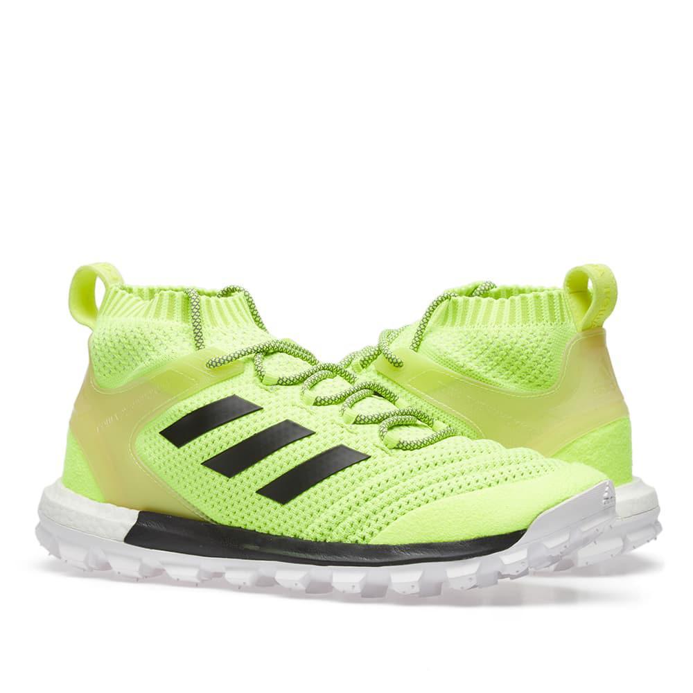 95575ce3530 Lyst - Gosha Rubchinskiy Copa Primeknit Boost Mid Sneaker in Yellow ...