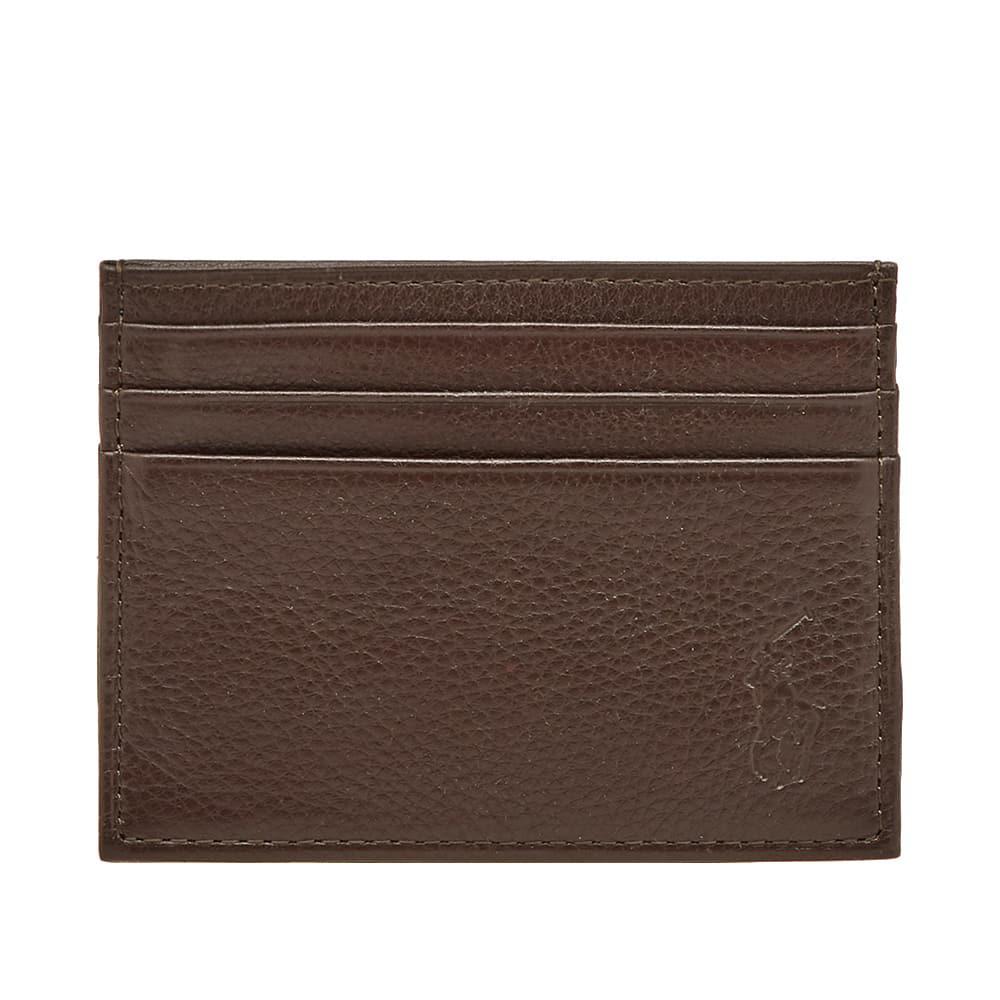 Polo Ralph Lauren. Men's Brown Card Holder