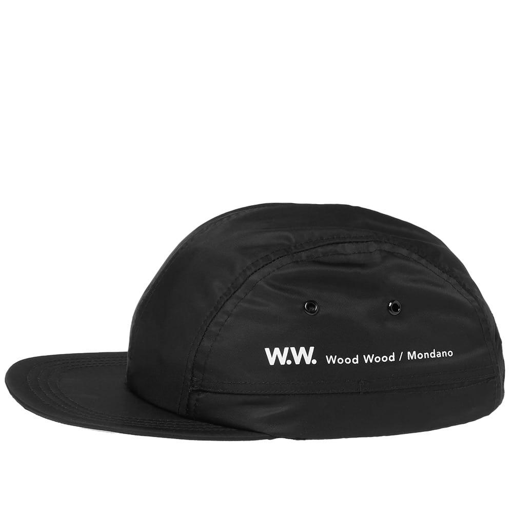 7376821a996 Lyst - WOOD WOOD Tech Movement Cap in Black for Men