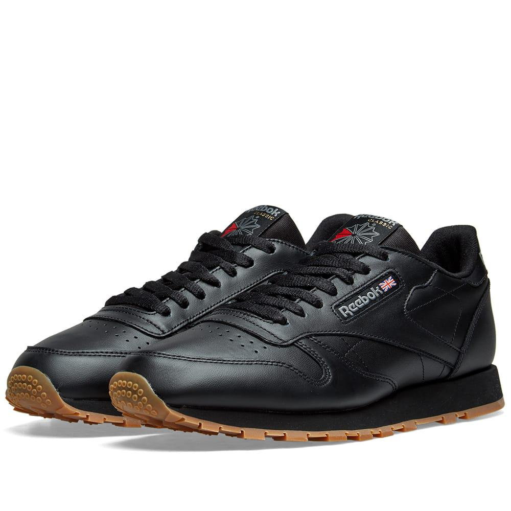 f874d088 Lyst - Reebok Classic Leather in Black for Men - Save 42%
