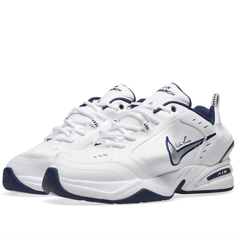 83566f829fca Nike X Martine Rose Air Monarch Iv In White in White for Men - Lyst