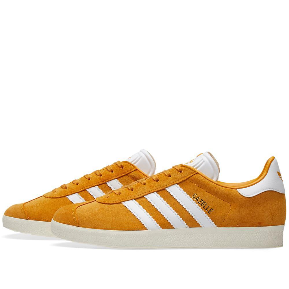 adidas Rubber Gazelle in Orange for Men