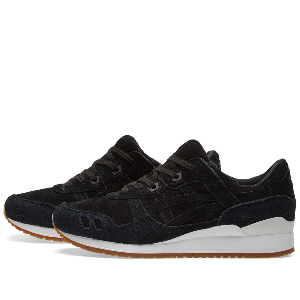 new product c3db7 e6c25 Asics Gel Lyte Iii 'hairy Suede' in Black for Men - Lyst