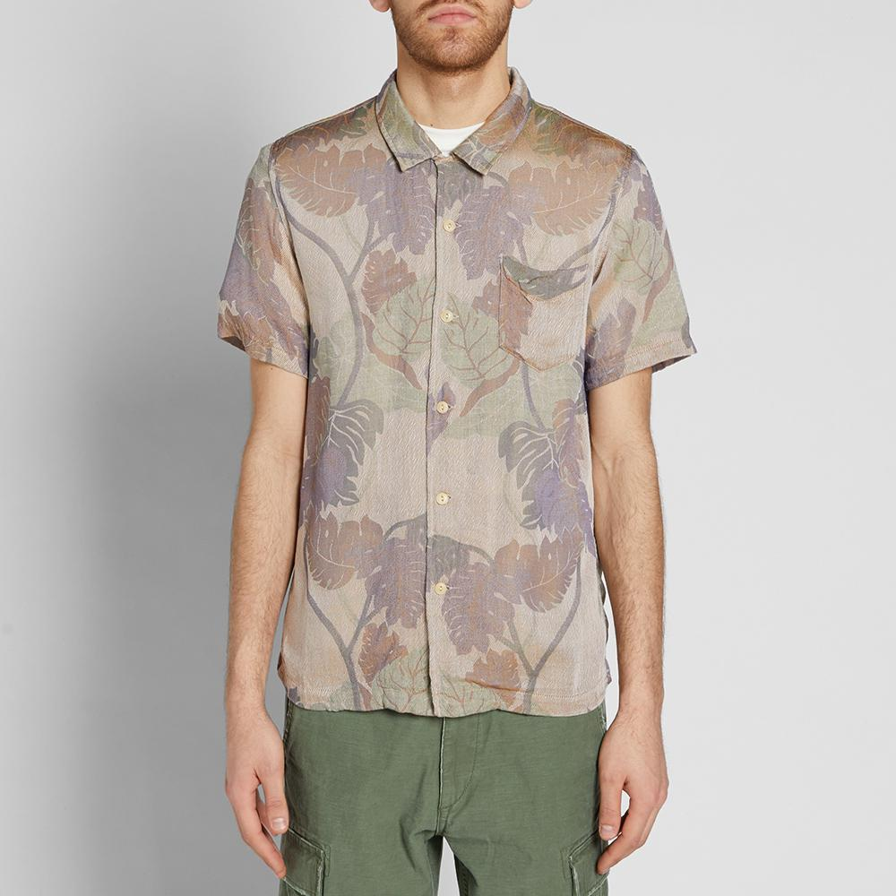 Remi Relief Floral Bowling Shirt for Men