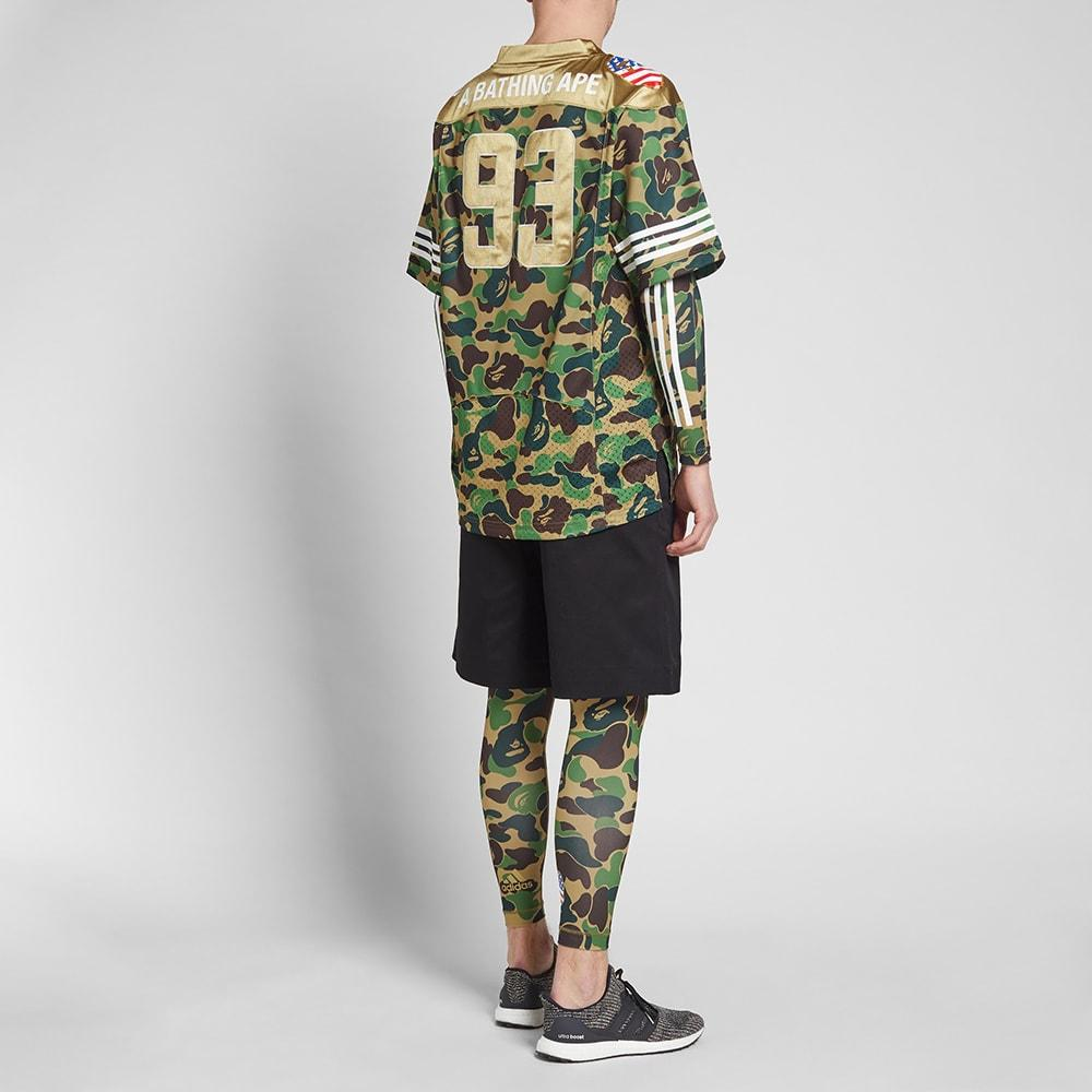 9dd6ec3be4ce Lyst - adidas Originals Adidas X Bape Jersey in Green for Men
