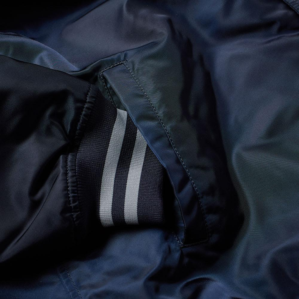 WTAPS Synthetic Bench Jacket in Blue for Men