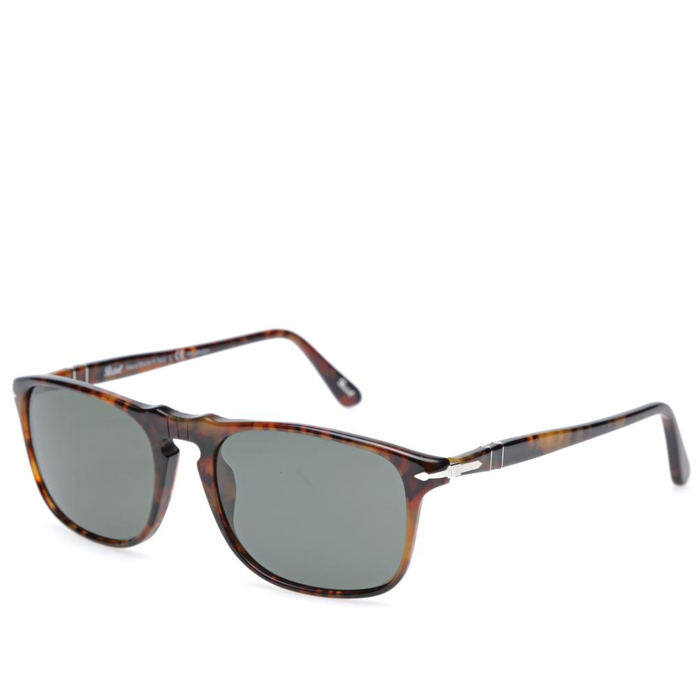 d2a68fa1b5 Persol 3059s Square Framed Polarised Aviator Sunglasses in Brown for ...