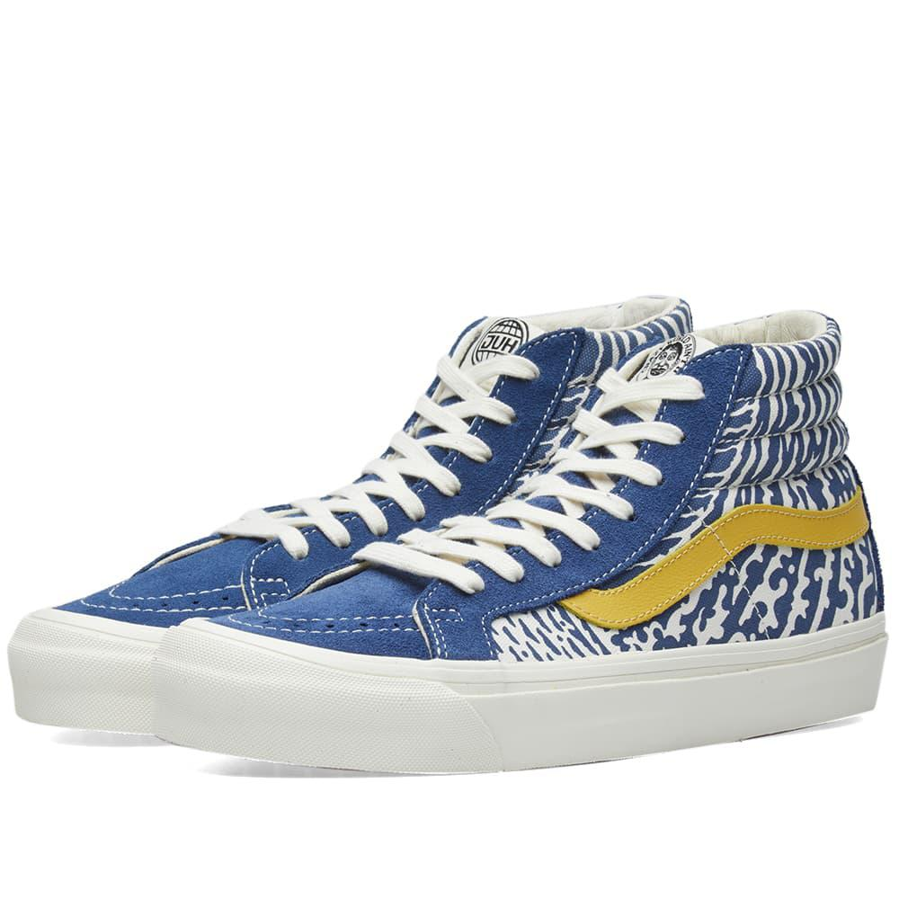 29f12d22a871d2 Vans X John Van Hamersveld Og Sk8-hi Lx in Blue for Men - Save 35 ...