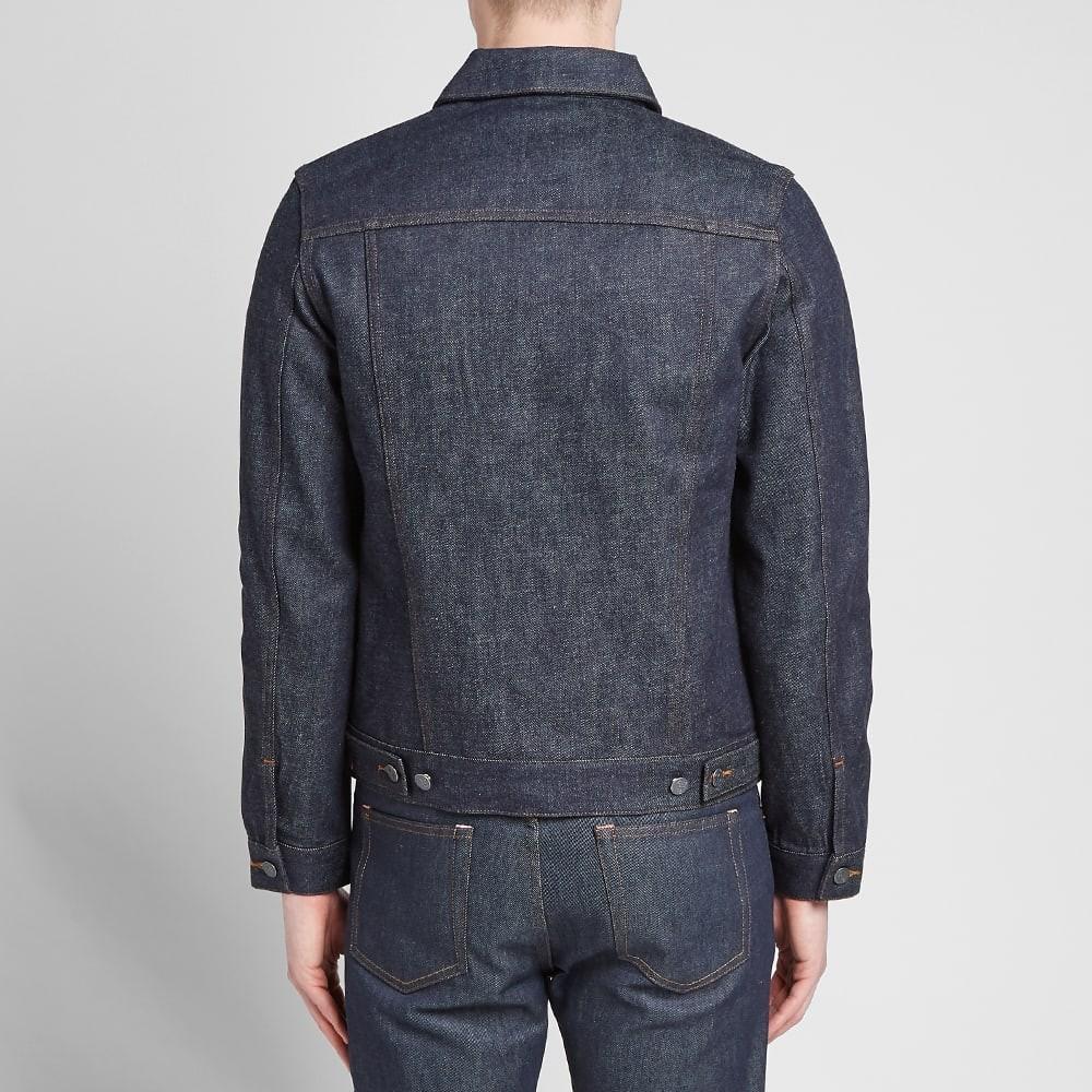 GUESS Tweed /& Faux leather Textured Lurex Zip Moto Jacket Blue Black XS 1 2 3