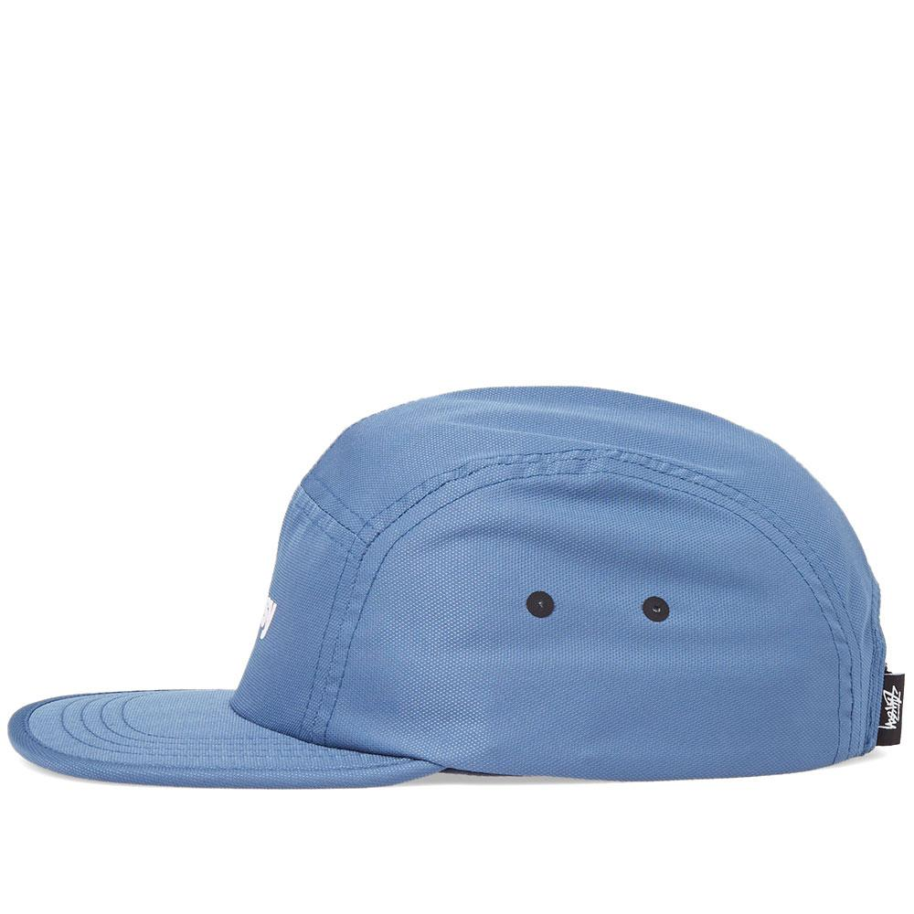 d958bb95d68 Stussy Crushable Camp Cap in Blue for Men - Lyst
