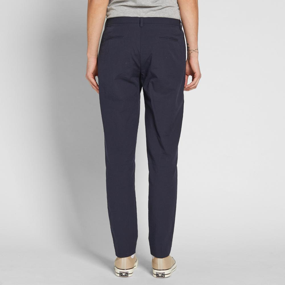 Folk Cotton Counter Trouser in Blue for Men