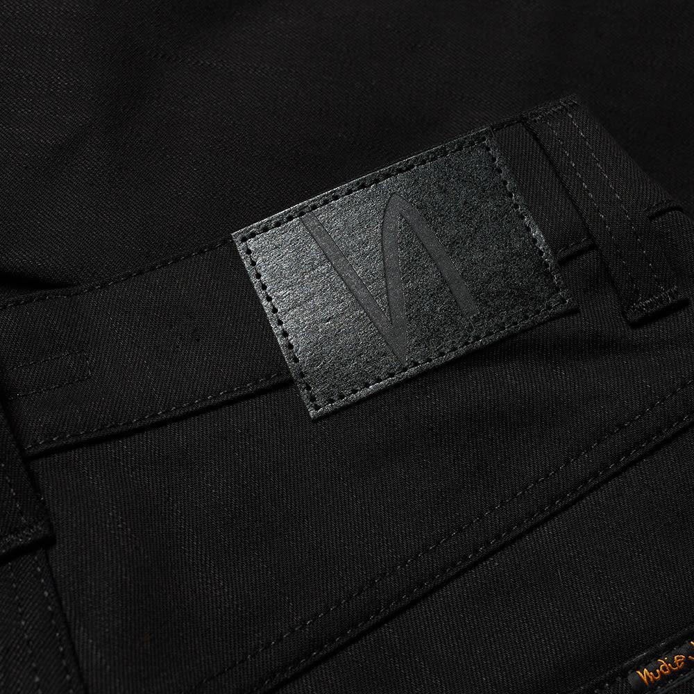 Nudie Jeans Denim Nudie Grim Tim Jean in Black for Men