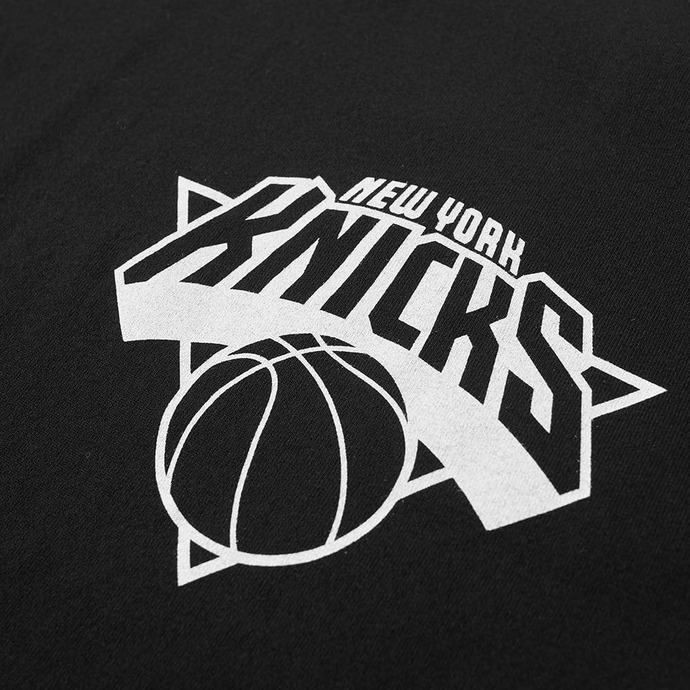 Maison Kitsuné Cotton Maison Kitsuné X Nba New York Knicks Tee in Black for Men