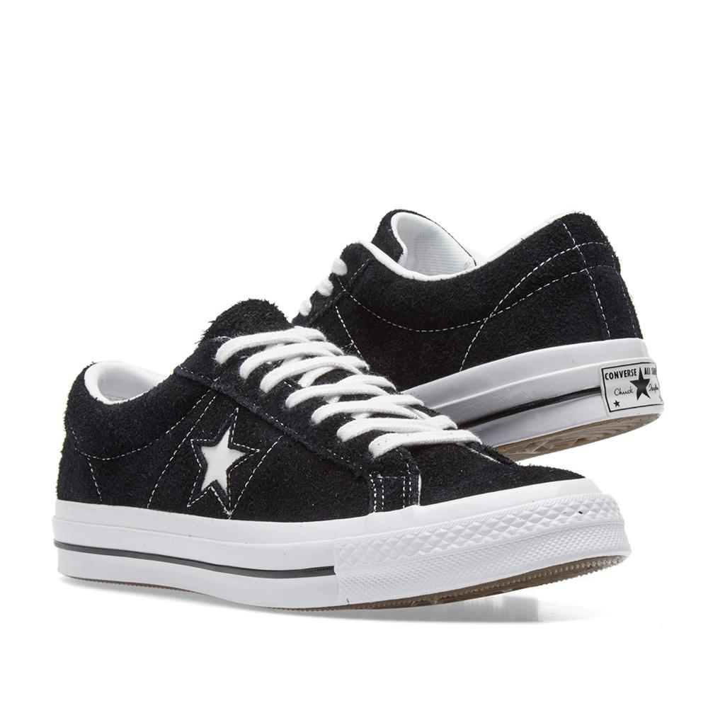 Converse Low Cut Black Shoes
