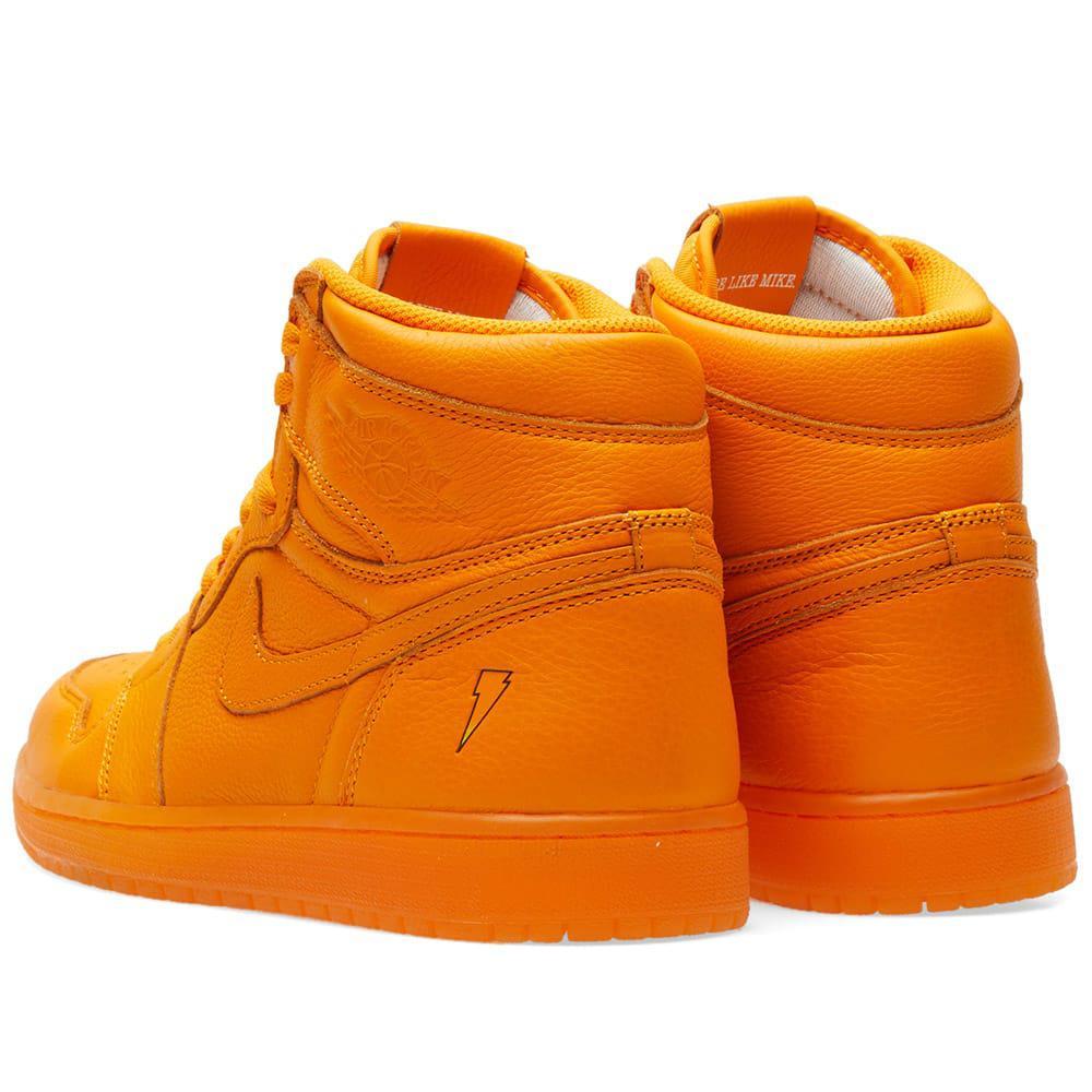 classic b4bac 3c89c Nike Leather Nike Air Jordan 1 Retro Og 'gatorade' in Orange ...