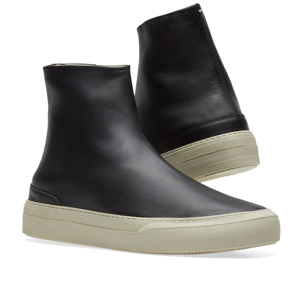 Maison margiela 22 glove sock sneaker in black for men lyst for Maison margiela 22