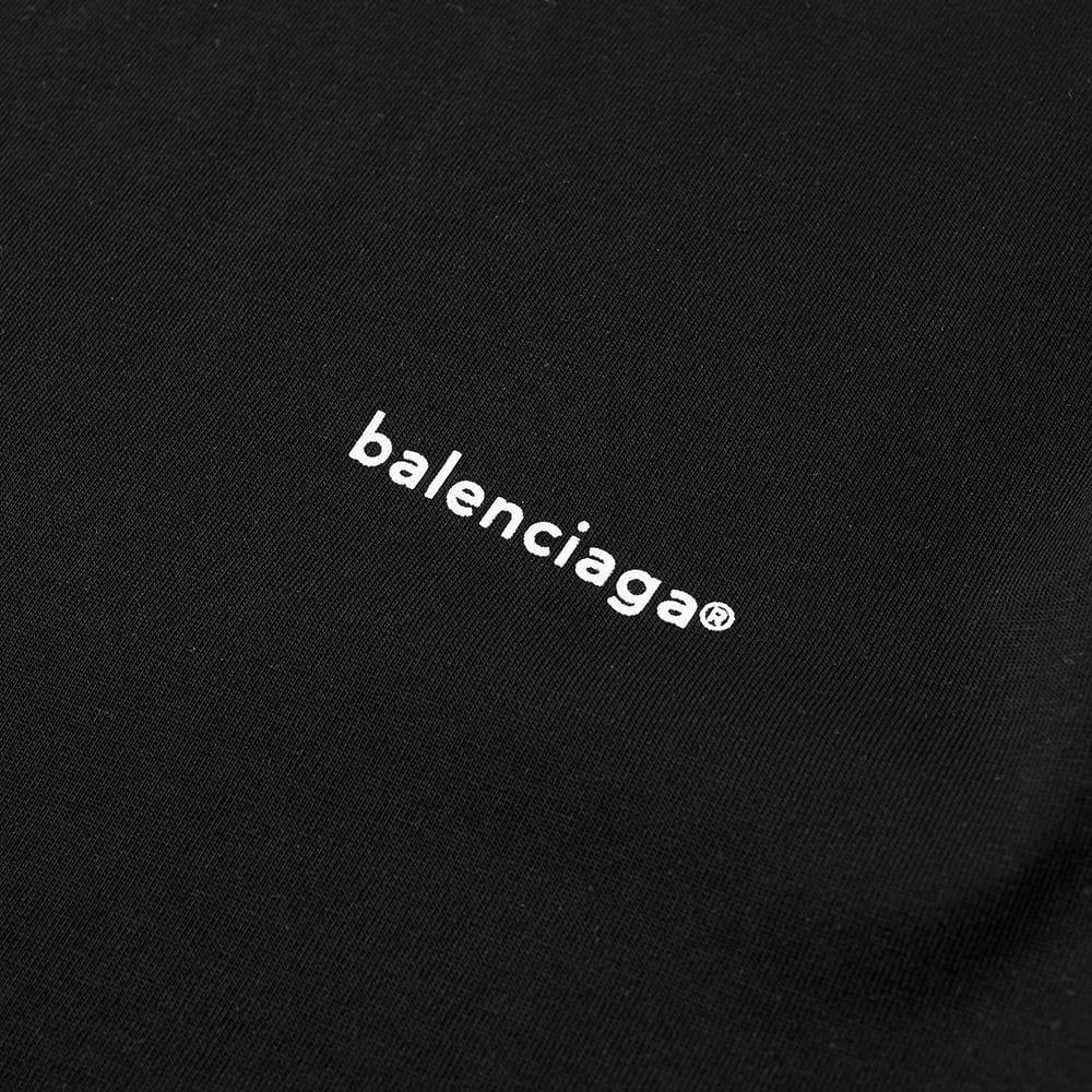 13e71597f69c Balenciaga Long Sleeve Copywrite Logo Tee in Black for Men - Lyst