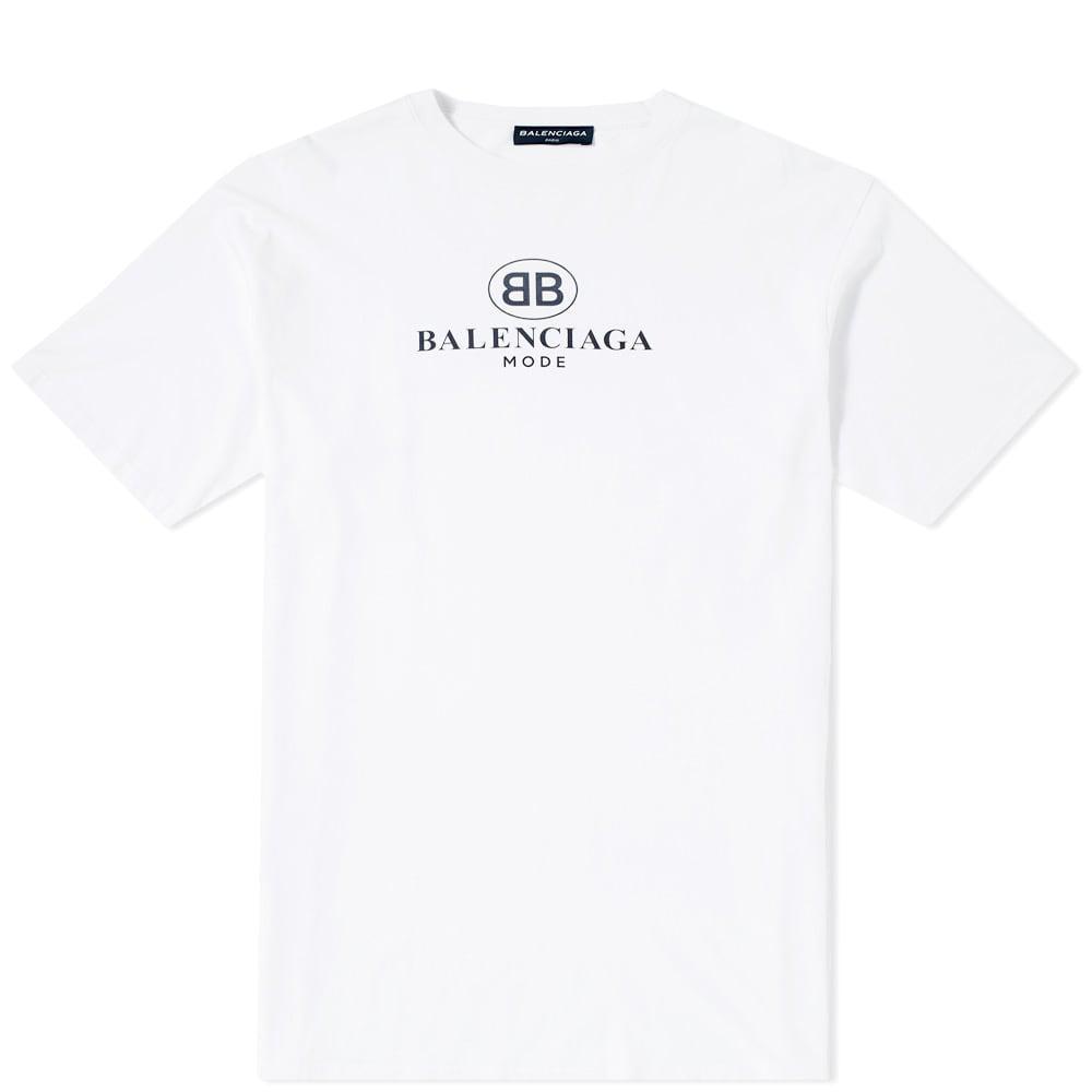 Balenciaga Cotton Bb Mode T-shirt in