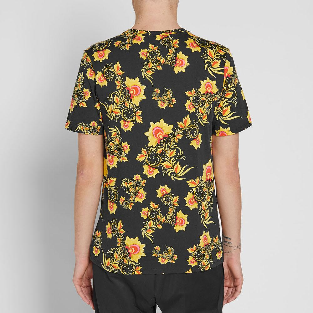 Nike Cotton Floral Tee in Black for Men