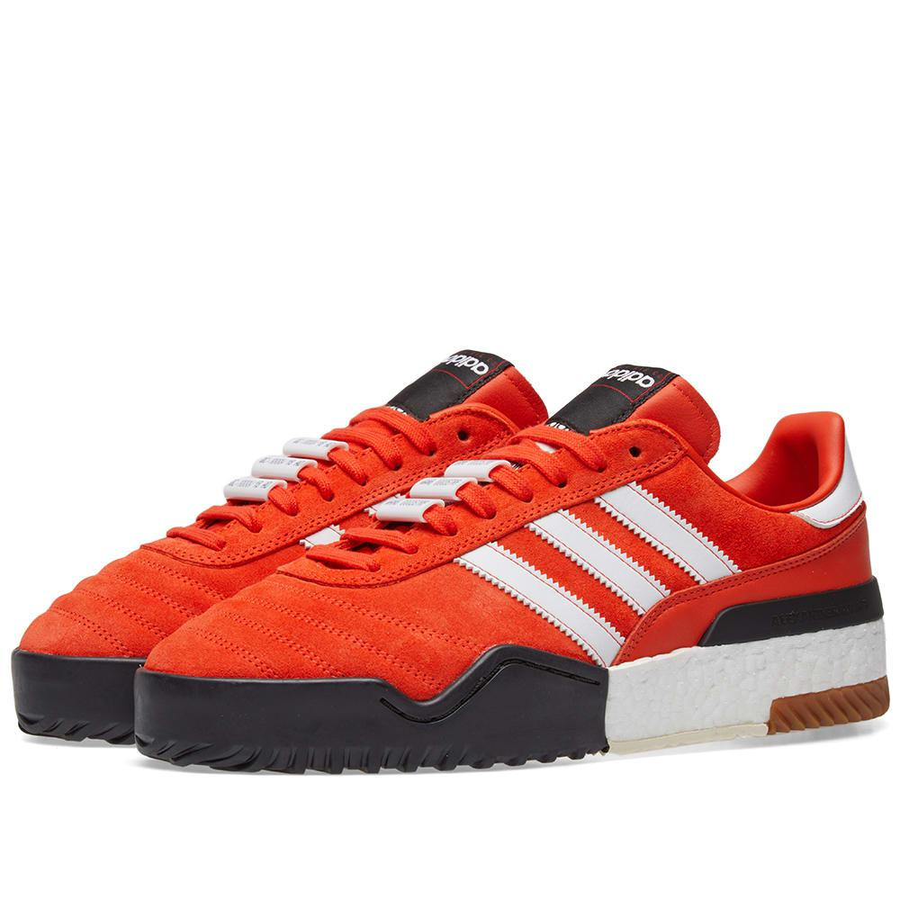 78908f224 Alexander Wang Orange Aw Bball Soccer Boost Sneakers in Orange for ...