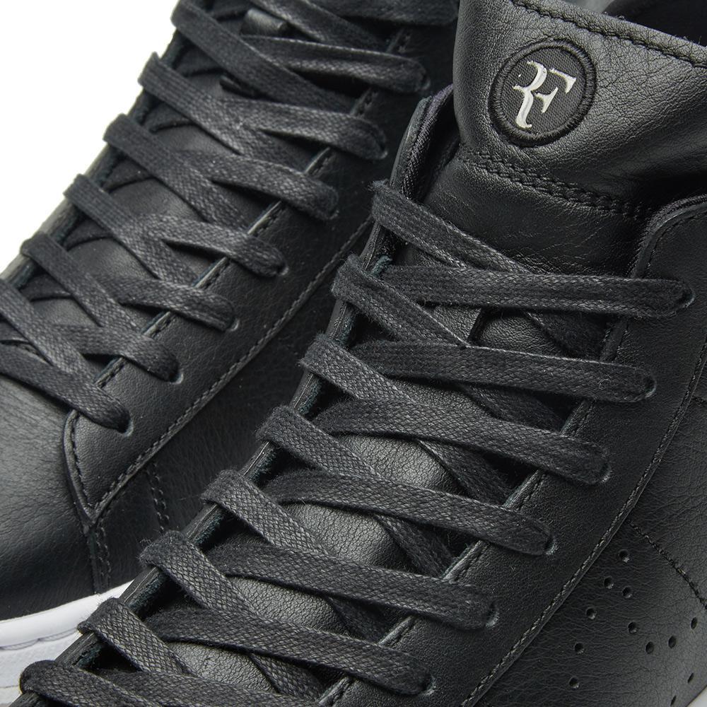 super popular 674a5 f2b47 Nike Tennis Classic Ultra Mid Rf in Black for Men - Lyst
