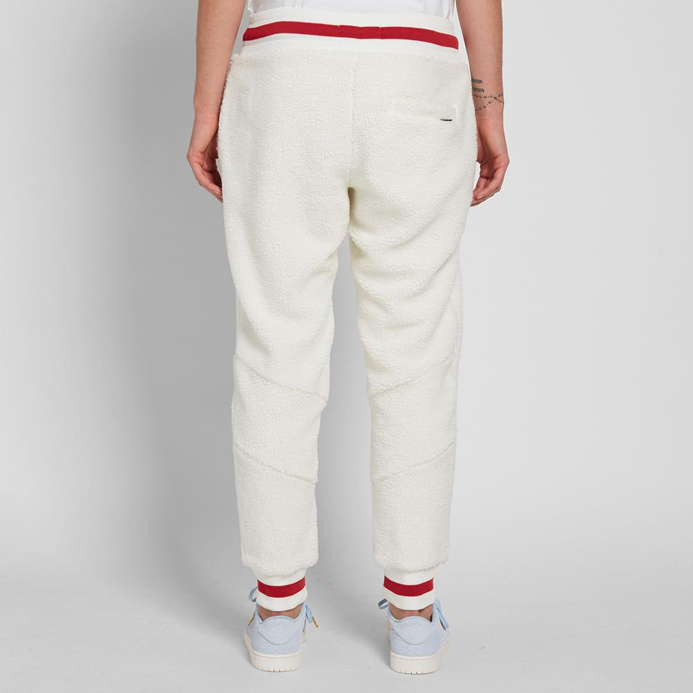 Lyst - Nike Air Jordan Sportswear Aj 1 Fleece Pant in White for Men 78ea5167605f