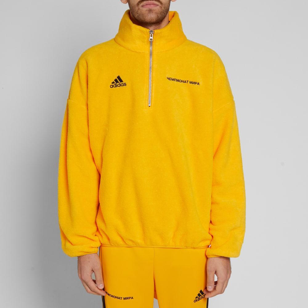 adidas gosha fleece top