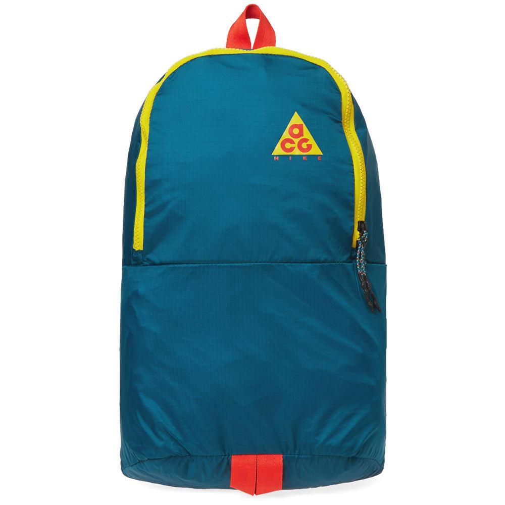 e477dd68795d Nike - Green Acg Nsw Packable Backpack for Men - Lyst. View fullscreen