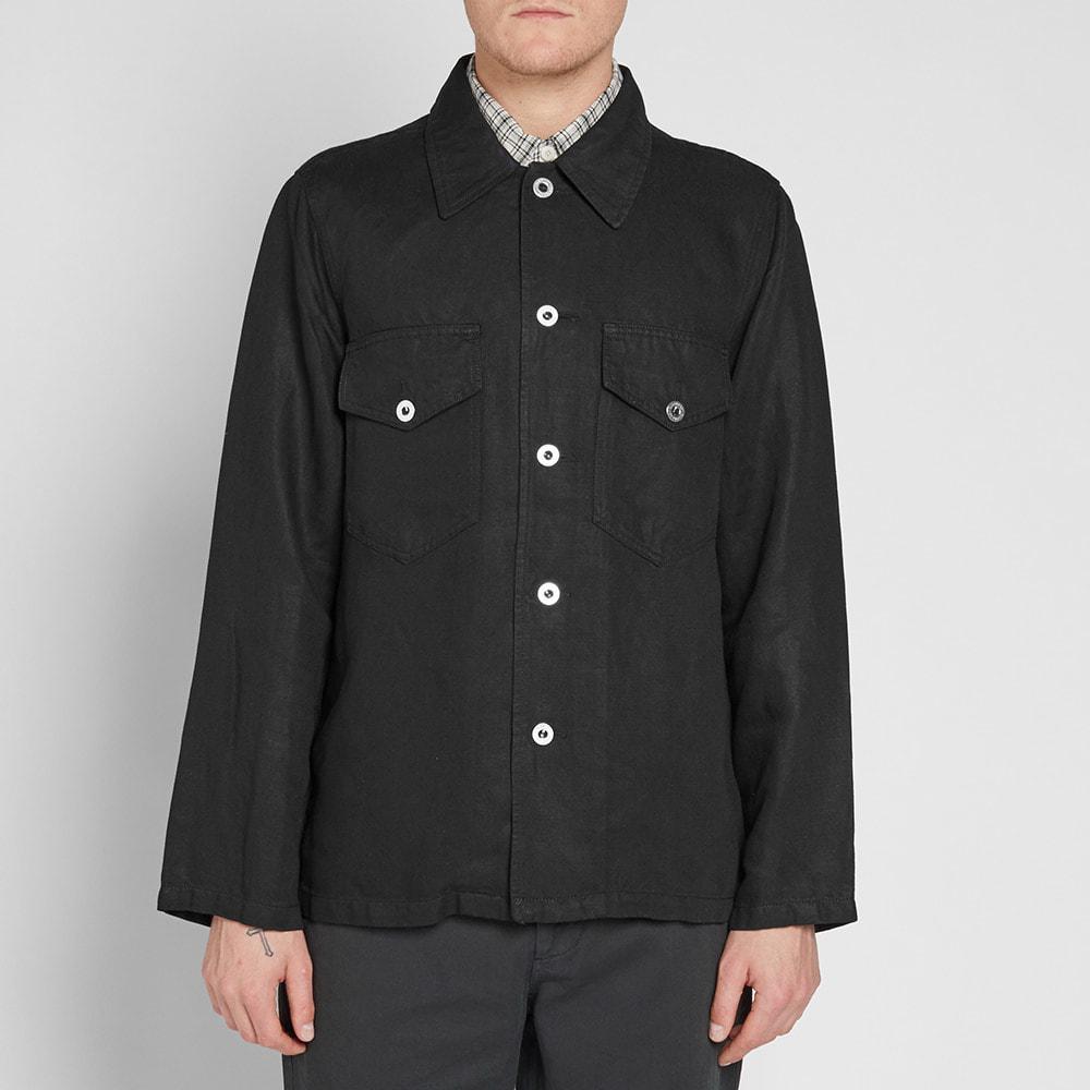 Our Legacy Decon Denim Jacket in Black for Men