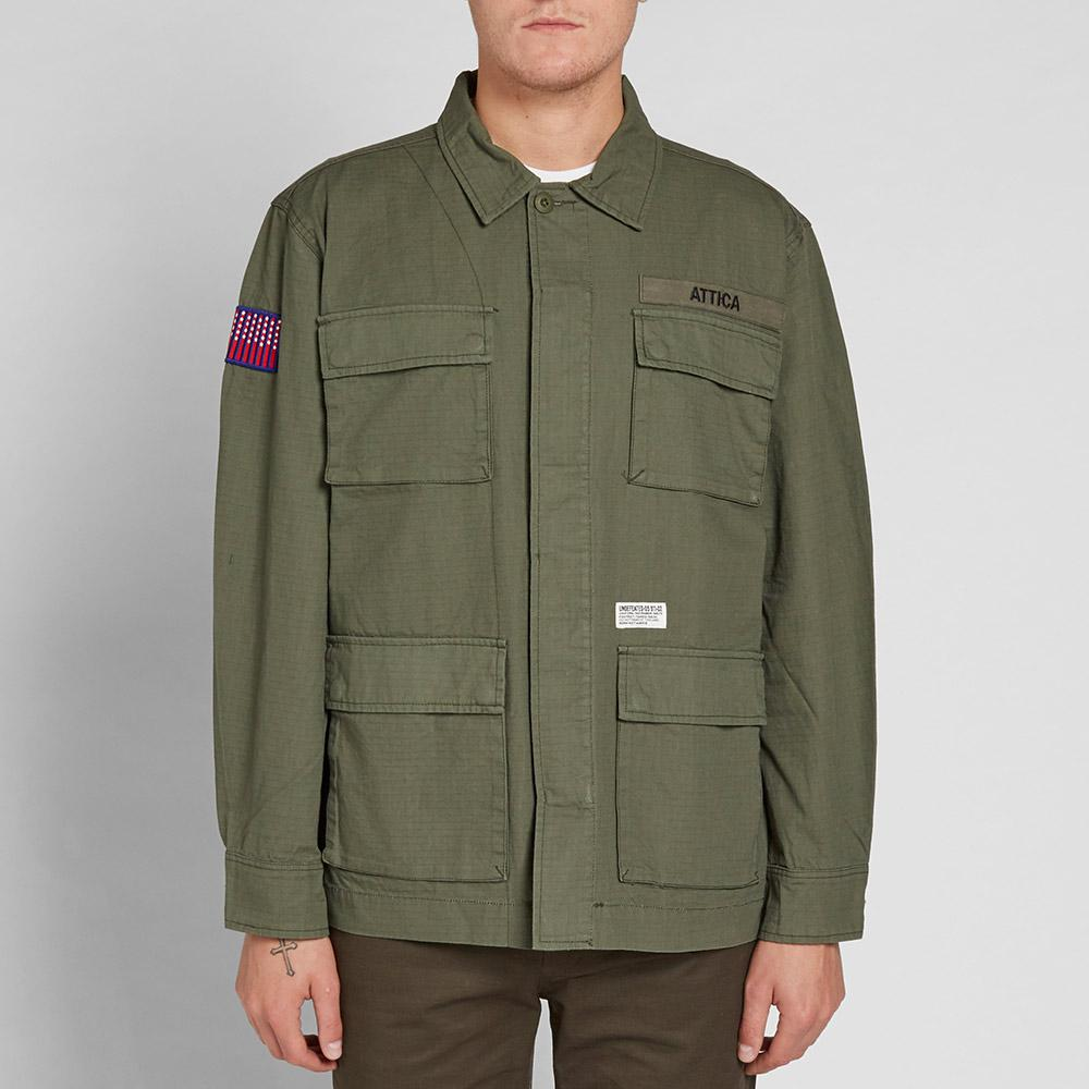Undefeated Cotton Attica Jungle Shirt in Green for Men