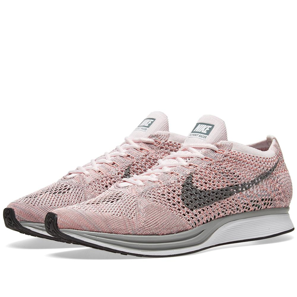 Nike Flyknit Racer In Pink For Men | Lyst