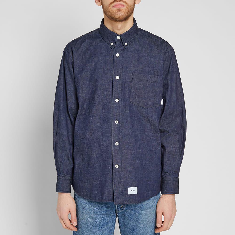 WTAPS Bd Denim Shirt in Blue for Men