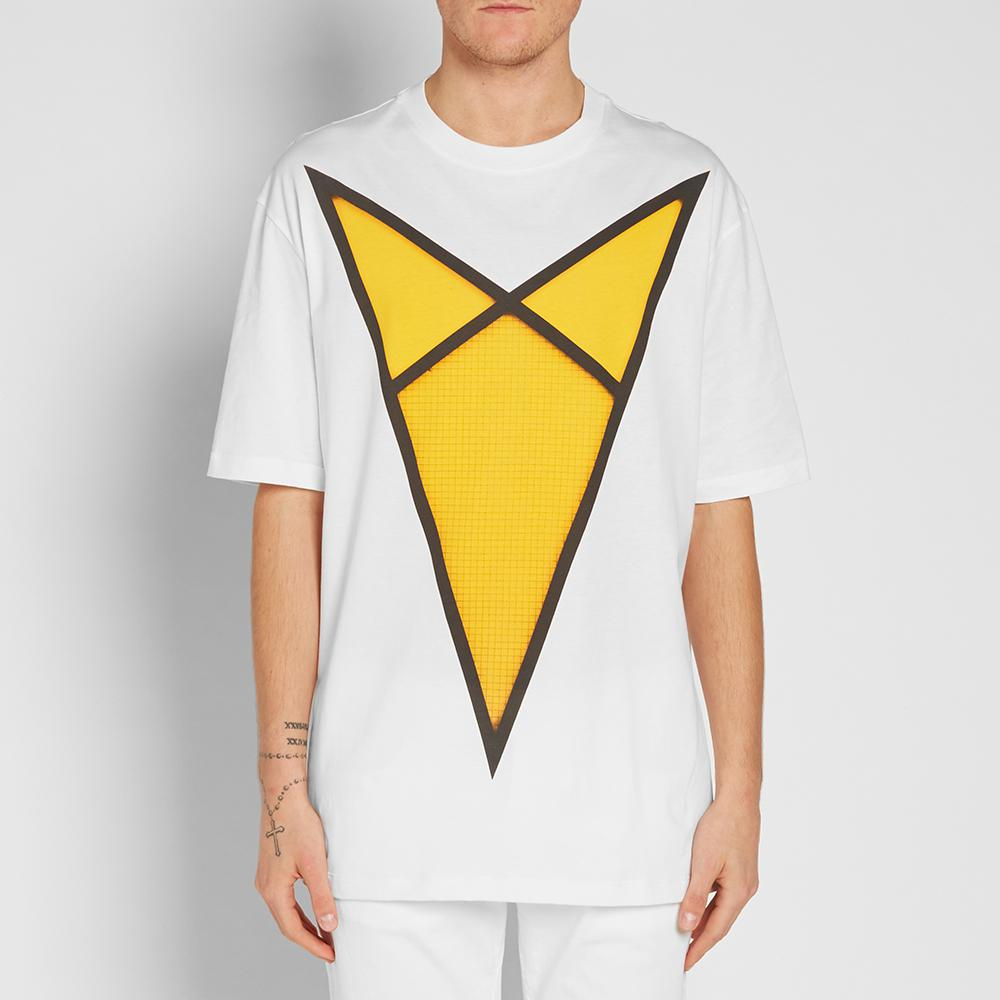 Lyst Raf Simons X Robert Mapplethorpe Yellow Arrow Tee