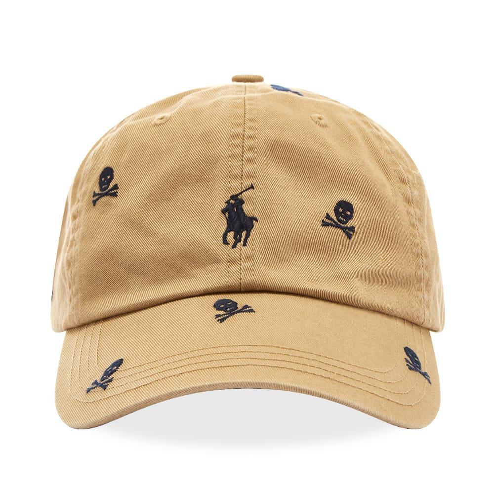 9578c7f35 Men's Brown Skull & Crossbones Baseball Cap