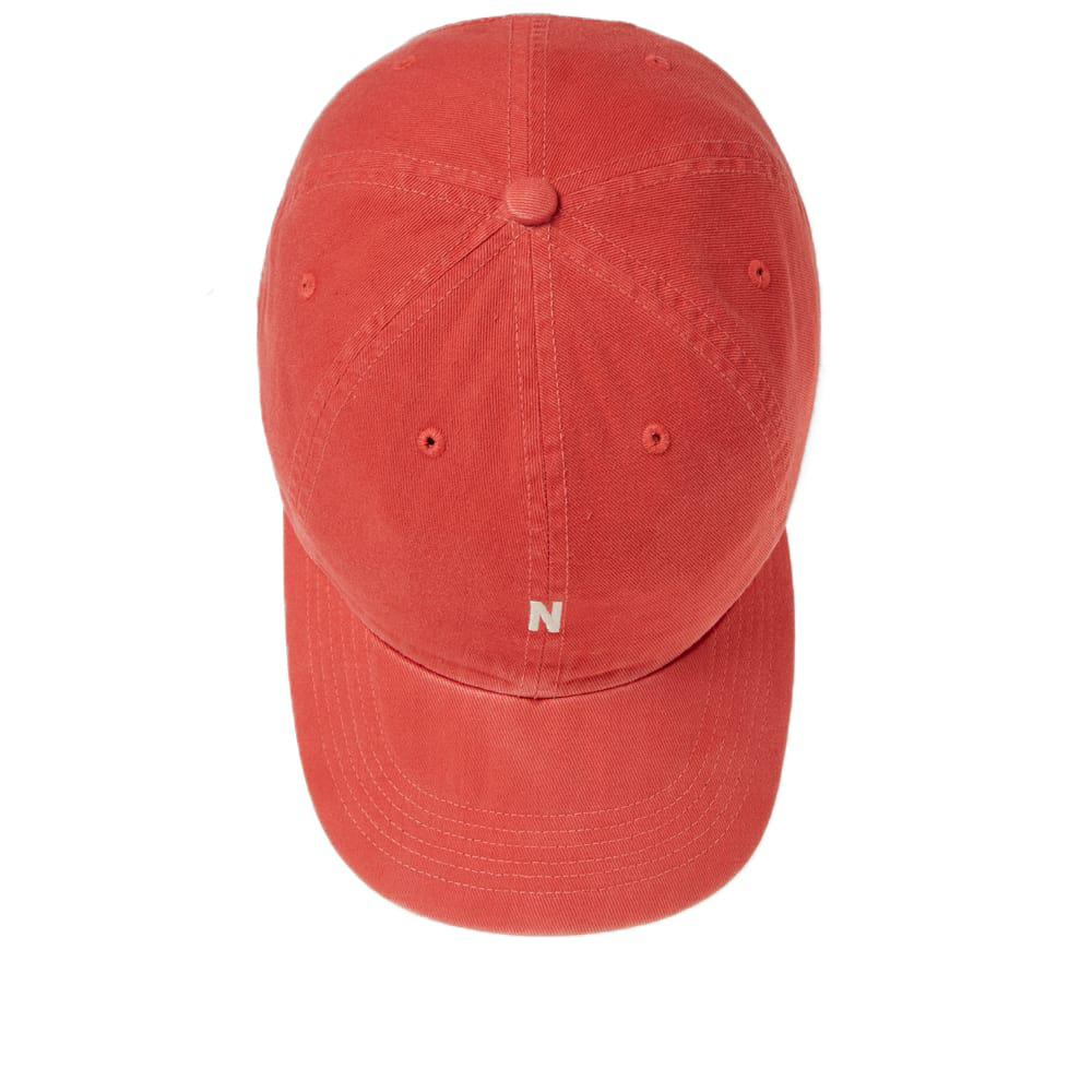 f5077a67ca7 Norse Projects - Red Twill Sport Cap for Men - Lyst. View fullscreen