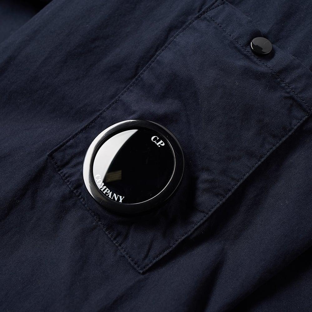 C P Company Cotton Arm Lens Popover Smock in Blue for Men