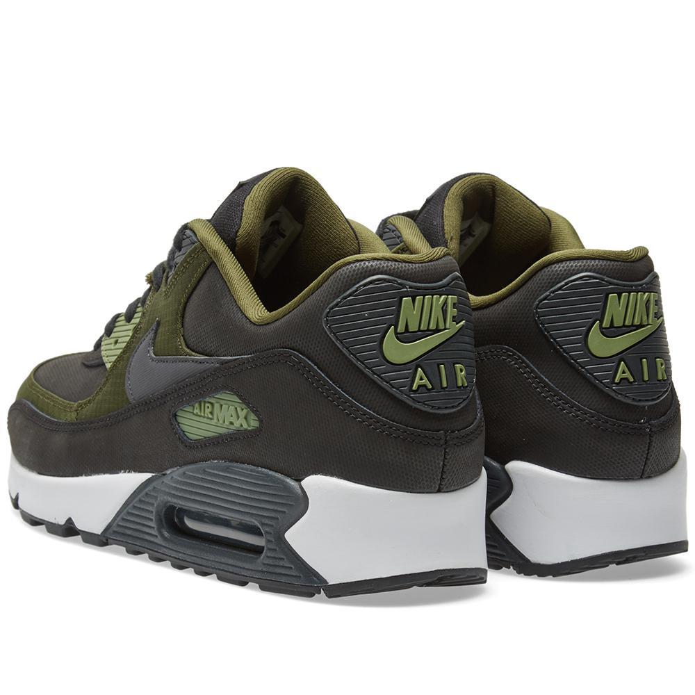 Nike Canvas Air Max 90 Premium in Black for Men