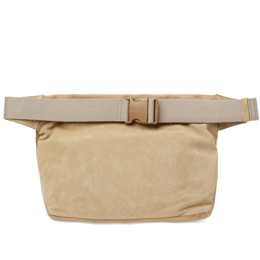Yeezy Suede Cross Body Bag in Natural