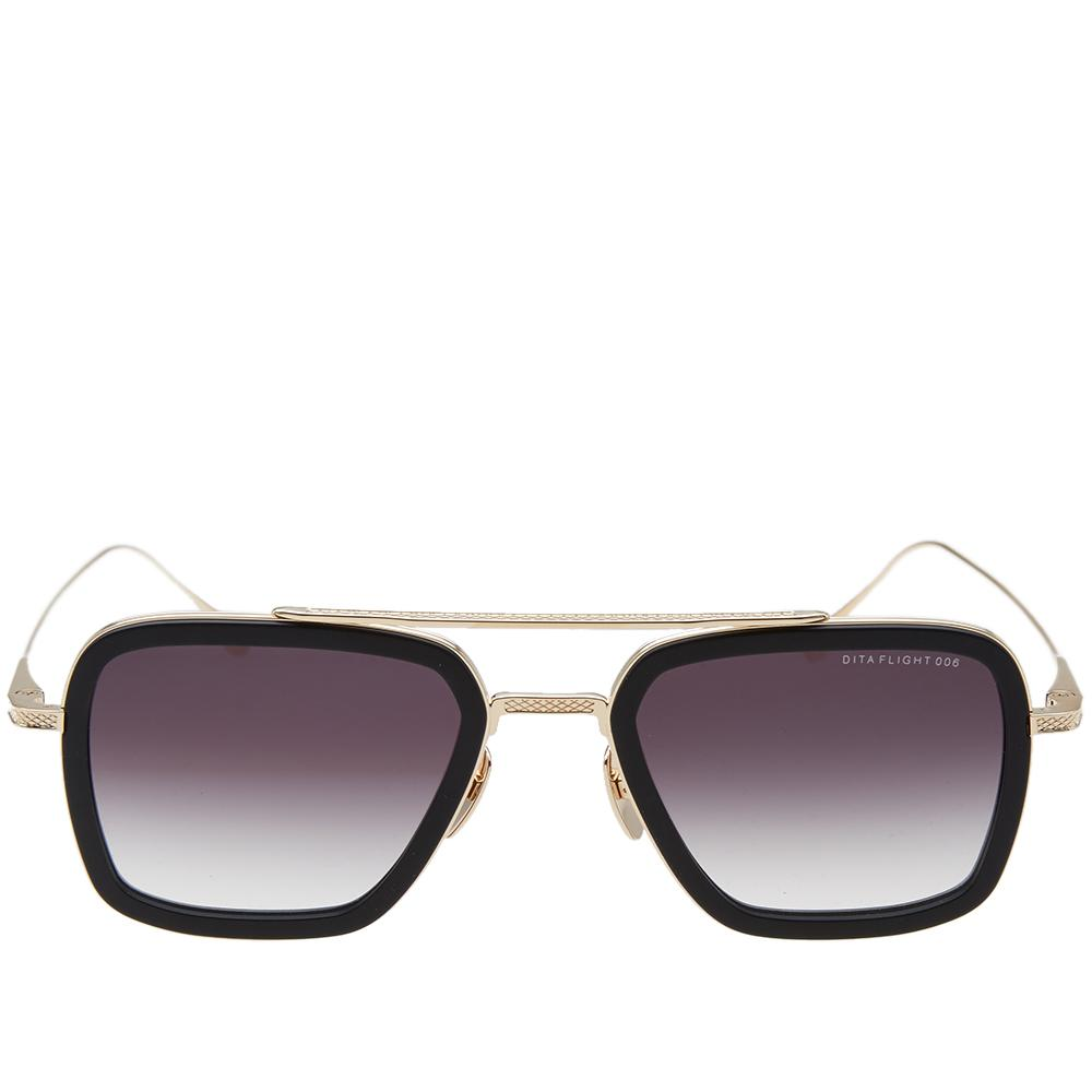 Dita Eyewear Flight.006 Sunglasses in Black for Men