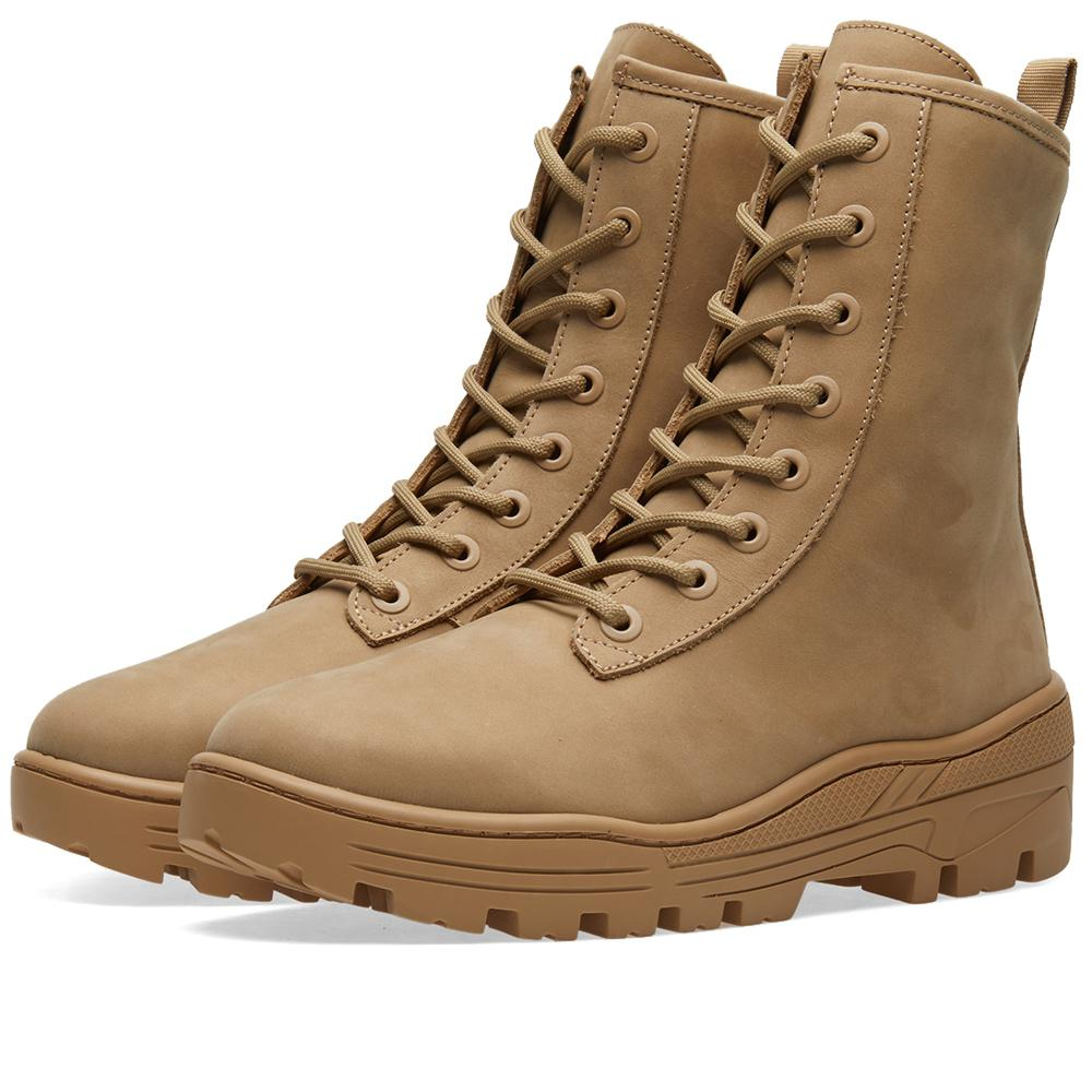 Lyst - Yeezy Combat Boot in Brown for Men
