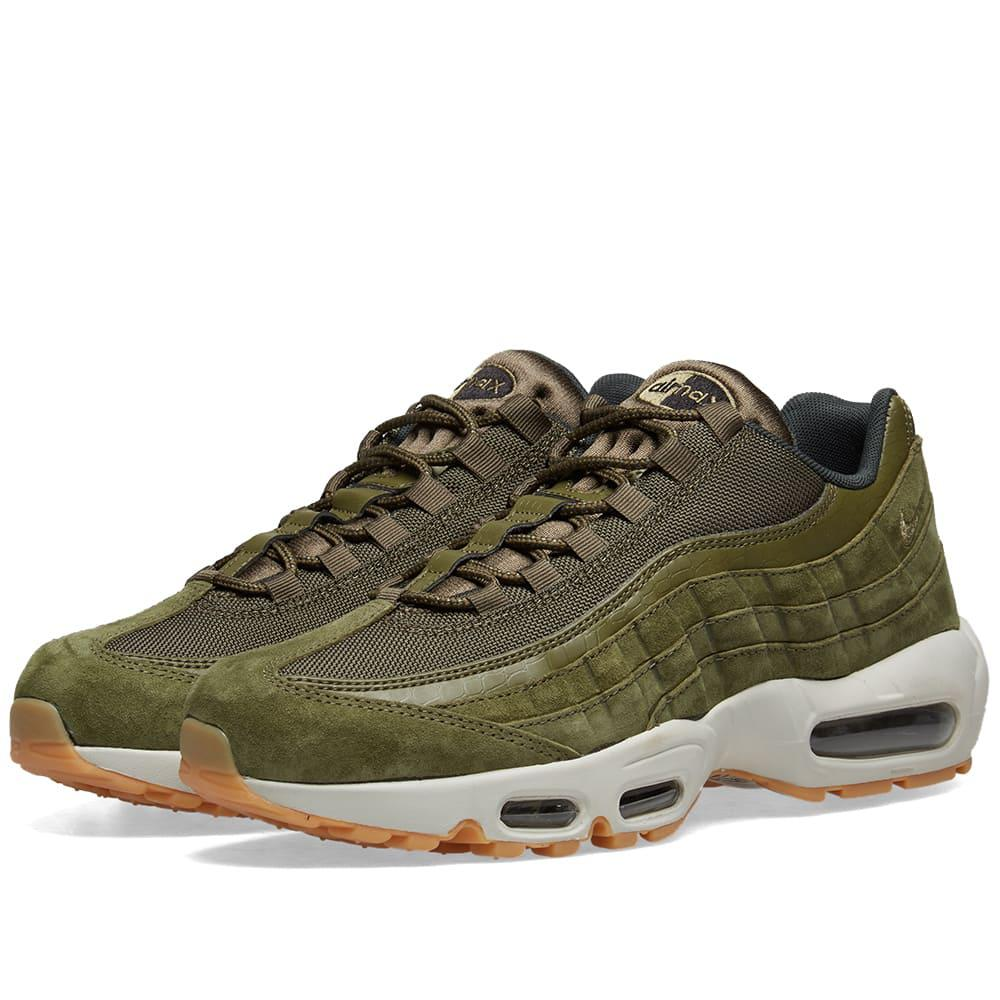 Lyst - Nike Air Max 95 Se in Green for Men - Save 34% 0849b3a9c