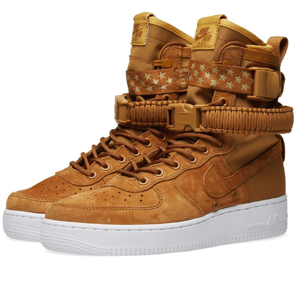 bbe342fd1 Nike Sf Air Force 1 W in Brown - Save 19% - Lyst